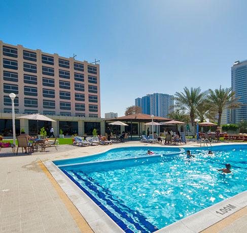 Ajman Beach Hotel Leisure With Pleasure